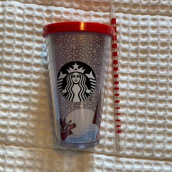 Grande Starbucks Christmas tumbler
